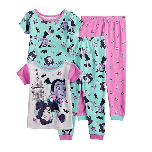 NEW!!! Disney Vampirina 2 PC Pajamas Girls Toddler 3T.