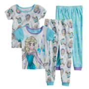 Disney's Frozen Elsa & Olaf Toddler Girl Tops & Bottoms Pajama Set