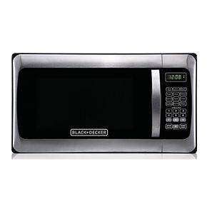 Black & Decker 1000-Watt Stainless Steel Microwave