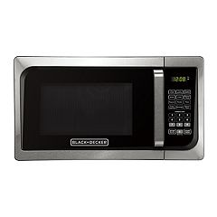 Black & Decker 900-Watt Stainless Steel Digital Microwave