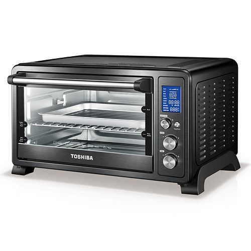 Toshiba AC25CEW-CHBS Digital Convection Toaster Oven