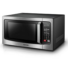 Toshiba 1200-Watt Stainless Steel Microwave with Inverter Technology