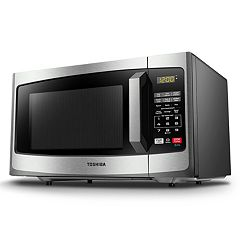 Toshiba 900-Watt Stainless Steel Microwave