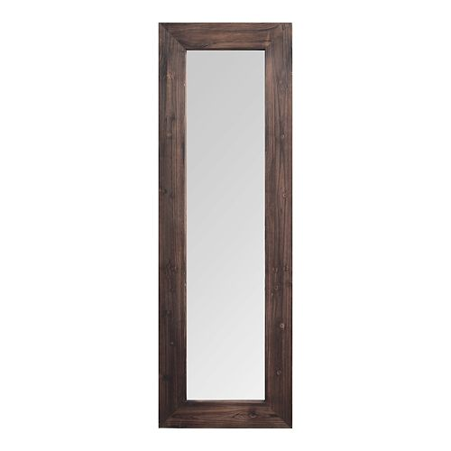 Stratton Home Decor Holly Wood Wall Mirror