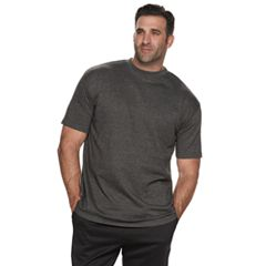 Big & Tall Russell Solid Crewneck Tee