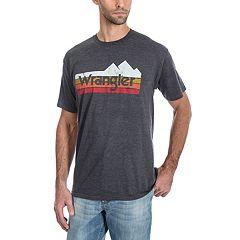 Men's Wrangler Mountain Logo Tee