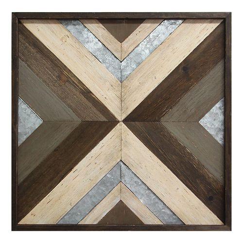 Stratton Home Decor Geometric Wall Decor