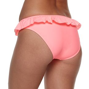 Mix and Match Ruffled Hipster Bikini Bottoms