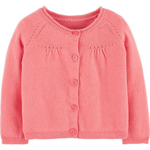 Baby Girl Carter's Pointelle Cardigan
