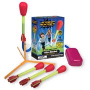 Stomp Rocket Ultra Foam-Tipped Rockets with Launch Pad