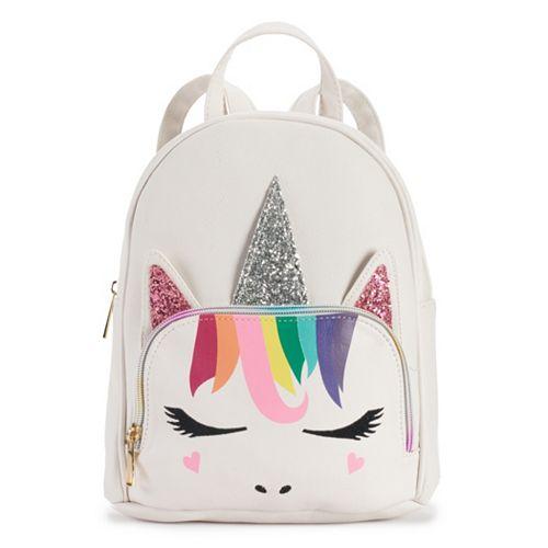 OMG Accessories Rainbow Unicorn Mini Backpack