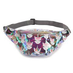 OMG Accessories Iridescent Rainbow Unicorn Fanny Pack