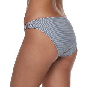 Mix and Match Striped Hipster Bikini Bottoms