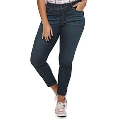 Juniors' Plus Size Candie's® Sculpting Skinny Jeans