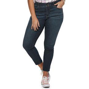 Juniors' Plus Size Candie's® Sculpting Curvy Skinny Jeans