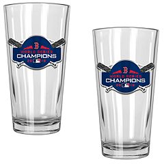 Boston Red Sox 2018 World Series Champions Shaker Glass Set