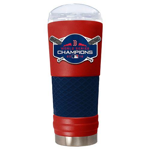 Boston Red Sox 2018 World Series Champions Draft Tumbler