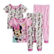 Disney's Minnie Mouse Toddler Girl Tops & Bottoms Pajama Set
