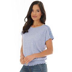 62ce2529d9868 Women s Apt. 9® Elastic-Hem Dolman-Sleeve Top