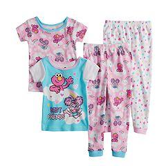 9f832dc82c51 Girls Sesame Street Sleepwear