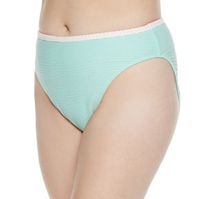 Plus Size SO® Pop Stitch Ribbed Hipster Bikini Bottom