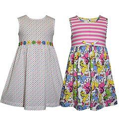 cb18abad2a80 Girls 4-6x Blueberi Boulevard 2-pack Printed Dresses