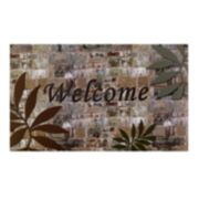 Achim Welcome Palms Outdoor Rubber Entrance Doormat - 18'' x 30''