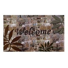 Achim Welcome Palms Outdoor Rubber Entrance Doormat - 18'' x 30''