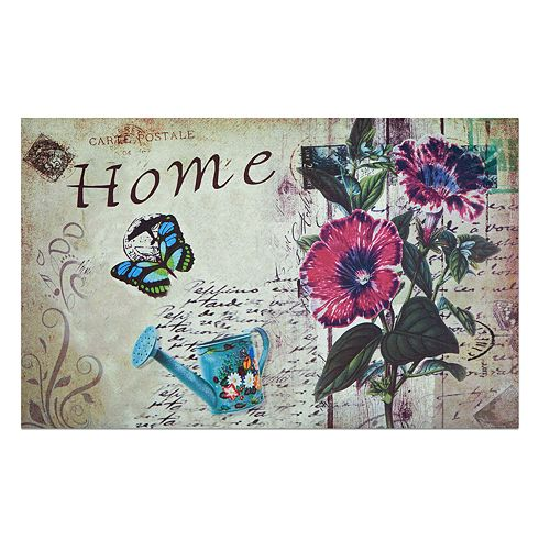 Achim Home Welcome Outdoor Rubber Entrance Doormat - 18'' x 30''