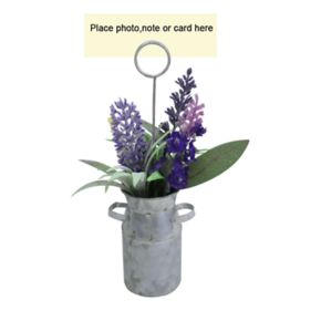 SONOMA Goods for Life? Artificial Lavender Watering Can Photo Clip
