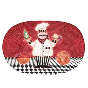 Achim Chef Printed Braided Rug - 20'' x 30''