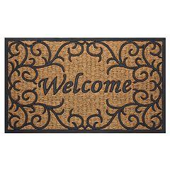 Achim Vines Printed Coir Doormat - 18'' x 30''