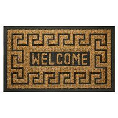 Achim Welcome Key Printed Coir Doormat - 18'' x 30''