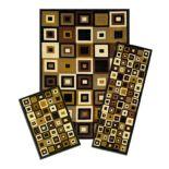 Achim Capri SW Tiles 3-piece Rug Set
