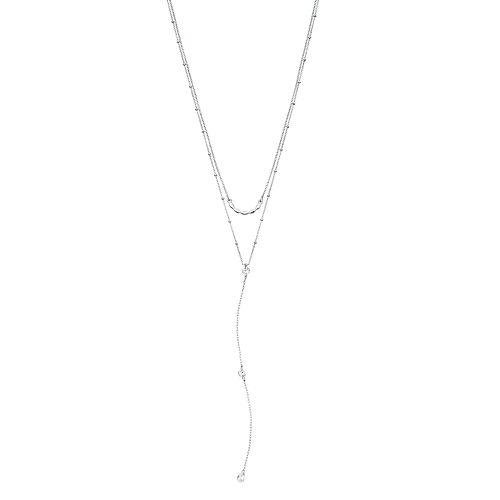 LC Lauren Conrad Layered Y Necklace