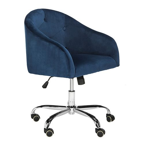 Safavieh Amy Tufted Swivel Desk Chair