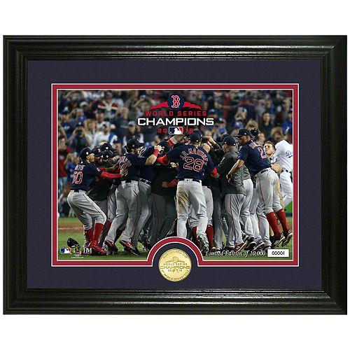 Highland Mint Boston Red Sox 2018 World Series Champions Celebration Photo
