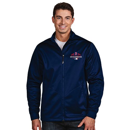 Men's Antigua Boston Red Sox 2018 World Series Champions Golf Jacket