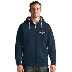 Men's Antigua Boston Red Sox 2018 World Series Champions Victory Full-Zip Hoodie