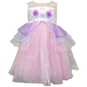 Toddler Girl Blueberi Boulevard Unicorn Dress