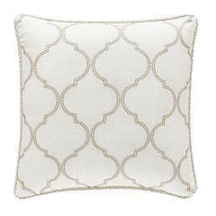 Royal Court Eleanor Square Throw Pillow