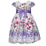 Toddler Girl Blueberi Boulevard Floral Dress