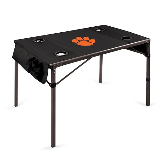 Picnic Time Clemson Tigers Portable Folding Table