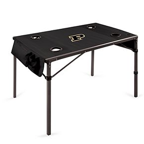 Picnic Time Purdue Boilermakers Portable Folding Table