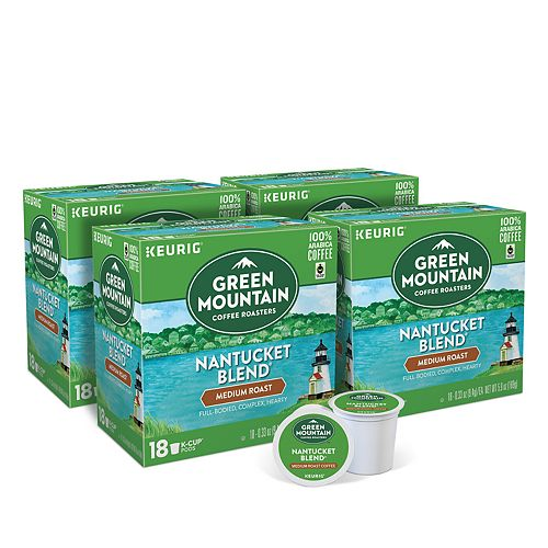 Green Mountain Coffee Nantucket Blend Keurig® K-Cup® Pods, Medium Roast, 72 Count