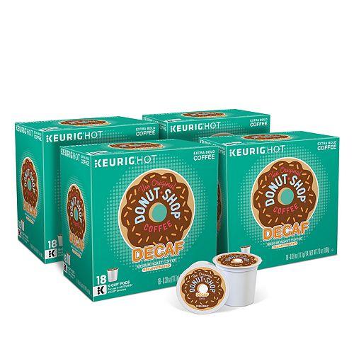 The Original Donut Shop Decaf Coffee Keurig® K-Cup® Pods, Medium Roast, 72 Count