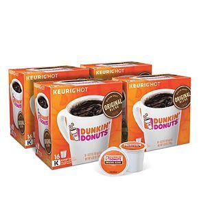 Dunkin' Donuts Original Blend Coffee, Keurig® K-Cup® Pods, Medium Roast, 64 Count