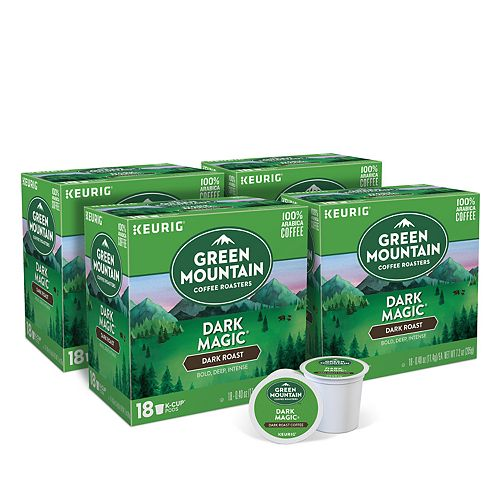 Green Mountain Coffee Dark Magic Keurig® K-Cup® Pods, Dark Roast, 72 Count