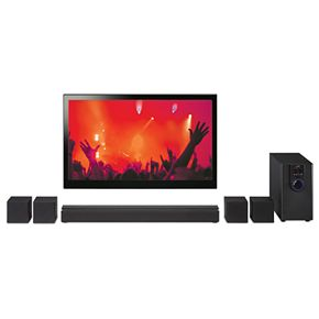 iLive 5.1 Home Theater System with Bluetooth