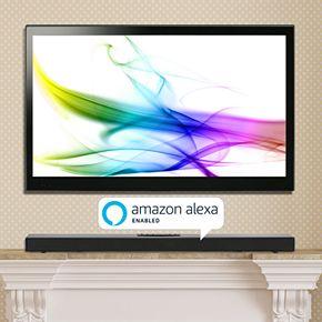 iLive Alexa Wireless Multi-Room 2.1 Sound Bar